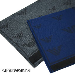 アルマーニ マフラー(メンズ) EMPORIO ARMANI エンポリオアルマーニ イーグルロゴマフラー スカーフ 全2色 625056 9A361 アルマーニ マフラー プレゼント 男性 マフラー ギフト