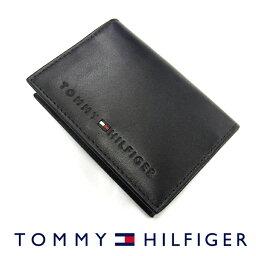 トミーヒルフィガー TOMMY HILFIGER トミーヒルフィガー 31TL20X014 名刺入れ カードケース ブラック バレンタイン プレゼント ギフト