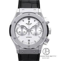 ウブロ 腕時計(メンズ) ウブロ HUBLOT クラシック フュージョン チタニウム クロノグラフ オパリン 521.NX.2610.LR 【新品】 時計 メンズ