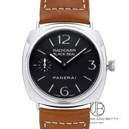 ラジオミール 腕時計(メンズ) パネライ PANERAI ラジオミール ブラックシール PAM00183 【新品】 時計 メンズ
