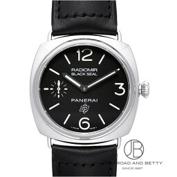 ラジオミール 腕時計(メンズ) パネライ PANERAI ラジオミール ブラックシール ロゴ PAM00380 【新品】 時計 メンズ
