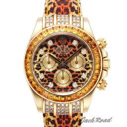 デイトナ 腕時計(メンズ) ロレックス ROLEX コスモグラフ デイトナ レパード 116598SACO 【新品】 時計 メンズ