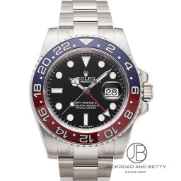 GMTマスター 腕時計(メンズ) ロレックス ROLEX GMTマスターII 116719BLRO 【新品】 時計 メンズ