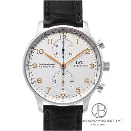 IWC ポルトギーゼ 腕時計(メンズ) IWC IWC ポルトギーゼ クロノグラフ オートマチック IW371445 【新品】 時計 メンズ