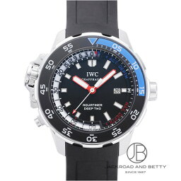 IWC アクアタイマー 腕時計(メンズ) IWC IWC アクアタイマー ディープII IW354702 【新品】 時計 メンズ