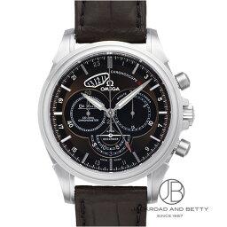 オメガ デ・ビル 腕時計(メンズ) オメガ OMEGA デ・ヴィル クロノスコープ コーアクシャル GMT 422.13.44.52.13.001 【新品】 時計 メンズ
