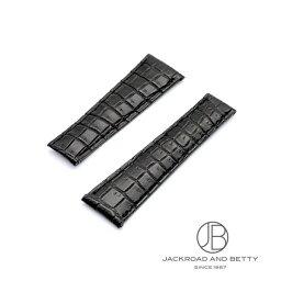 デイトナ 腕時計(メンズ) ジャックロード Jackroad ジャックロード デイトナ用 クロコダイル革ベルト 20mm jg009 【新品】 その他