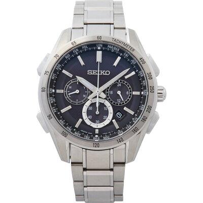 【送料無料】セイコー ブライツ ワールドタイム ソーラー電波メンズ腕時計 SAGA193【代引不可】【ギフト館】