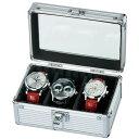 ウォッチケース エスプリマ Es'prima 3本用アルミ製腕時計収納ケース/SE54013AL