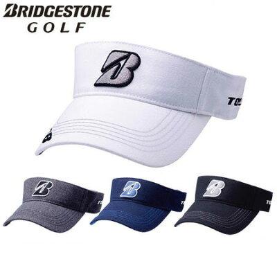 【ゴルフ】【サンバイザー】ブリヂストンゴルフ BRIDGESTONE GOLF メンズ TOUR B マーカー付き バイザー CPWG82 2018秋冬