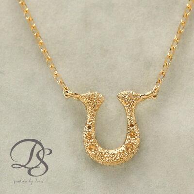 K18 ゴールド ネックレス 馬蹄 レディース プレゼント DEVAS ディーヴァス 馬蹄 ネックレス k18 ネックレス 18k ネックレス 18金 プチネックレス