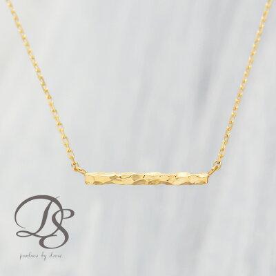 ゴールド ネックレス レディース k18 18金crossbar【クロスバー(横棒)】 ネックレス シンプルなデザイン プレゼント DEVAS ディーヴァス