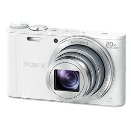 サイバーショット DSC-WX350-W ソニー デジタルカメラ「Cyber-shot WX350」(ホワイト) [DSCWX350W]【返品種別A】