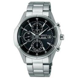セイコー アルバ 腕時計(メンズ) AGAD057 アルバ ワイアード NEW STANDARD ソーラークロノグラフモデル メンズタイプ [AGAD057]【返品種別A】