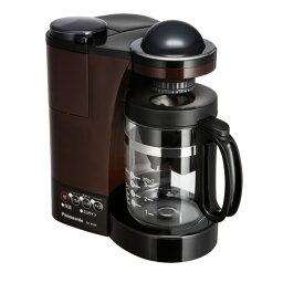 パナソニック コーヒーメーカー NC-R500-T パナソニック ミル付き浄水コーヒーメーカー ブラウン Panasonic [NCR500T]