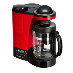 パナソニック コーヒーメーカー NC-R400-R【税込】 パナソニック ミル付き浄水コーヒーメーカー レッド Panasonic [NCR400R]【返品種別A】【送料無料】【RCP】