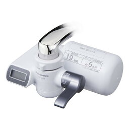 パナソニック TK-CJ23-H【税込】 パナソニック 蛇口直結型浄水器 メタリックグレー Panasonic [TKCJ23H]【返品種別A】【送料無料】【RCP】