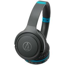 オーディオテクニカ ATH-S200BT GBL オーディオテクニカ Bluetooth対応ワイヤレスヘッドホン(グレーブルー) audio-technica