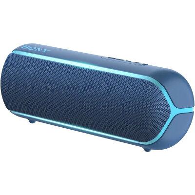 SRS-XB22-L ソニー 防塵防水対応 Bluetoothスピーカー(ブルー) SONY