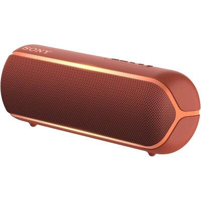 SRS-XB22-R ソニー 防塵防水対応 Bluetoothスピーカー(レッド) SONY