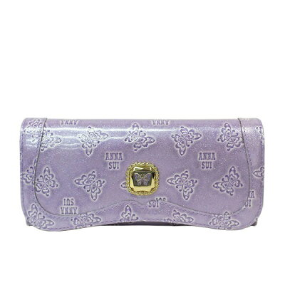 アナスイ ANNA SUI 財布 さいふ サイフ 長財布 BOX型 ジェラート かぶせ長財布 ジェラード 全4色