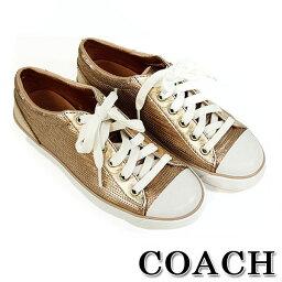 コーチ コーチ COACH コーチ 靴 シューズ ジェマ シークイン スニーカー Q1308 箱無し サイズ6 23.5cm