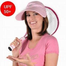 ハットアタック 【Physiciane 】サンバイザー 遮光 折りたたみ帽子 フリーサイズ 紫外線防止 UV対策 夏帽子 レディースUPF50+ ハット 帽子 紫外線カット【メール便 送料無料】