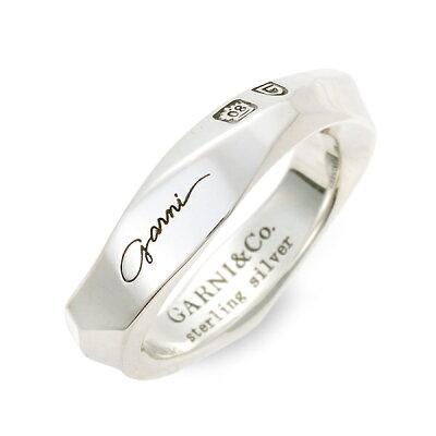 GARNI シルバー リング 指輪 婚約指輪 結婚指輪 エンゲージリング 名入れ 刻印 20代 30代 彼女 レディース 女性 誕生日プレゼント 記念日 ギフトラッピング ガルニ 送料無料