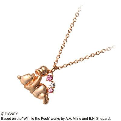 【店内全品ポイント10倍】WISP【Disney】 Disney シルバー ネックレス 20代 30代 彼女 レディース 女性 誕生日プレゼント 記念日 ギフトラッピング ウィスプ【ディズニー】 ディズニー Disneyzone プーさん 送料無料 母の日