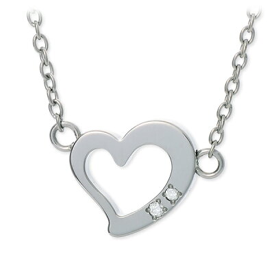 fe-fe×phiten ネックレス ダイヤモンド ハート 彼女 レディース 女性 誕生日プレゼント 記念日 ギフトラッピング フェフェ 送料無料