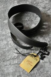 LIM'S Martin / マーティン SLIM STRAP (Black)[18A0046]《レザーストラップ》
