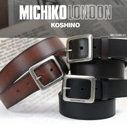 ミチコロンドン メンズベルト メンズ MICHIKO LONDON ミチコロンドン JEANS ジーンズ 紳士ベルト 小物 ブランド プレゼント ランキング ギフト
