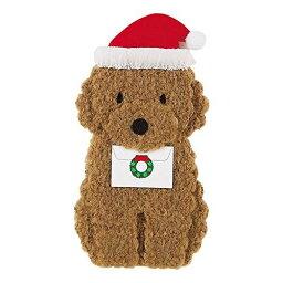 サンリオ メッセージカード クリスマスカード ふかふかトイプードル[Sanrio]サンリオメッセージカード・立体カード