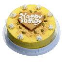 アイスケーキの通販 かぼちゃのアイスケーキ 幸せの黄色いアイスケーキ  お誕生日 バースデイ お誕生会 ホームパーティー プレゼント カード付き アイスクリーム 魁ジェラート