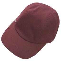 エルメス 【新品】エルメス 帽子 H191005N33 ソルド レディース キャスケット キャップ デイヴィス BORDEAUX ボルドー