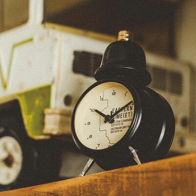置き時計 目覚まし時計 イースタン タイム インターフォルム interform cl-1477 ステップ ムーブメント【置時計 置き時計 ベル アラーム クロック 子供 北欧 レトロ シンプル 男前 かわいい おしゃれ 結婚祝い ギフト 入学祝い プレゼント 彼女 彼氏 新生活】