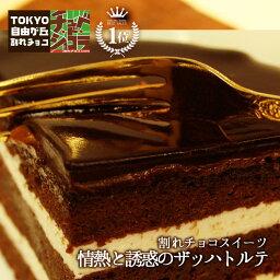 チョコレートケーキ 情熱と誘惑のザッハトルテ(ミルク/ビター)チュベ・ド・ショコラ【チョコケーキ】(割れチョコ クーベルチュール)