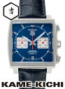 タグホイヤー モナコ 腕時計(メンズ) タグ・ホイヤー モナコ クロノグラフ Ref.CAW2111.FC6183 新品 ブルー/ホワイト (TAG HEUER Monaco Chronograph)【楽ギフ_包装】