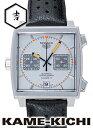 タグホイヤー モナコ 腕時計(メンズ) タグ・ホイヤー モナコ Ref.CAW211C.FC6241 新品 シルバー/グレー (TAG HEUER Monaco)【楽ギフ_包装】