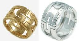 ブルガリ パレンテシ 指輪(レディース) BVLGARI RINGブルガリ リングニューパレンテシ 指輪 ゆびわK18 ホワイトゴールド AN853974イエローゴールド AN853985