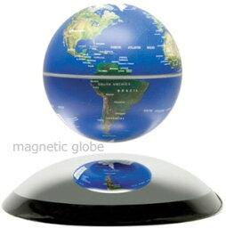 浮く地球儀 ドーム型ミラーベースの上で浮揚する地球儀神秘的に中に浮く直径10cmの地球儀レビテイトマグネチックグローブ電磁誘導マグネットグローブ電源を入れると磁力が発生し、地球儀が中に浮きますブルーオーシャン インテリアやプレゼントとして人気