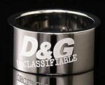 ドルガバ 指輪 D&G DOLCE&GABBANAロゴリング シルバーアクセサリー プレゼントメンズ レディース 男女兼用ドルチェ&ガッバーナ ドルガバDJ0615 DJ0590 J0591 約20号 約22号 約18号