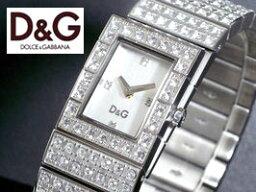 ドルチェ&ガッバーナ 腕時計(レディース) ドルチェ&ガッバーナ ウォッチ スコットランドD&G WATCH SCOTLAND DW0328ジルコニアが散りばめられアクセサリーとしてブレスレットとしてもお使い頂けます。シルバー 腕時計 アナログ