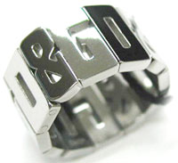 ドルガバ 指輪 D&G リング ジュエリーシルバーリング D&GロゴラインJewelry Ring DJ0537 13号 DJ0538 15号DJ0540 DJ0542#19 DJ0541#21DOLCE&GABBANA 指輪 ドルチェ&ガッバーナ ドルガバ指元のアクセントに