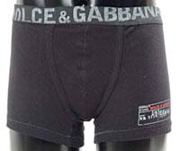 ドルチェ&ガッバーナ DOLCE&GABBANA  ドルチェ&ガッバーナ ボクサーパンツメンズ ボクサーブリーフパンツブラック ホワイトロゴアンダーウェアドルガバ D&G ディー&ジーUNDER WEARM10355-N0000