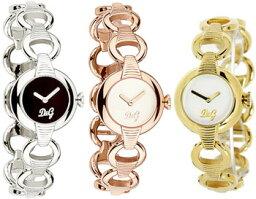 ドルチェ&ガッバーナ 腕時計(レディース) D&G 腕時計ドルガバ アナログウォッチ パターンブラック×シルバーホワイト×ゴールド ×ピンクゴールドDOLCE&GABBANA PATTERNDW0342SLDW0343GDDW0344PGディー&ジー レディースドルチェ&ガッバーナアクセサリー ブレスレット