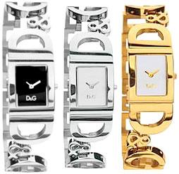 ドルチェ&ガッバーナ 腕時計(レディース) D&G 腕時計ドルガバ アナログウォッチ アイルランドブラック×シルバーホワイト×ゴールドホワイト×シルバーDOLCE&GABBANA IRLANDDW0494 DW0495 DW0499ディー&ジーレディースドルチェ&ガッバーナアクセサリー ブレスレット