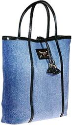 トートバッグ DOLCE&GABBANAデニム トートバッグロゴプレートデニムブルー 8S650ドルガバ ドルチェ&ガッバーナBB3681 A8D17D&G ディー&ジーBAG バック かばん 鞄
