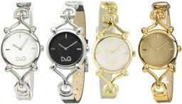 ドルチェ&ガッバーナ 腕時計(レディース) D&G 腕時計ドルガバ アナログウォッチ フロックブラック×シルバーホワイト×ゴールドライトピンク×シルバーDOLCE&GABBANA FlockDW0496BKDW0498 DW0497PKSLDW0500WHGDディー&ジーレディースドルチェ&ガッバーナ