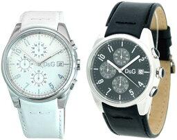 サンドパイパー 腕時計(メンズ) DOLCE&GABBANA(D&G) WATCHドルチェ&ガッバーナ(ドルガバ) ウォッチ 腕時計 クロノグラフ サンドパイパーブラック 3719770097ホワイト 3719770084